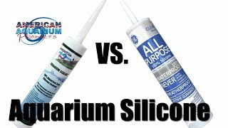 Silicone Sealant   GE 100% Silicone   What Aquarium Glass Silicone to Use?
