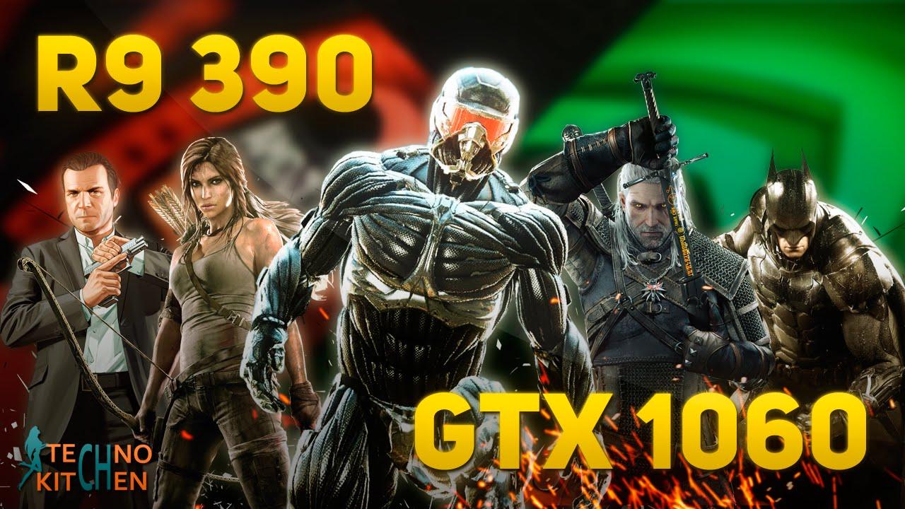 R9 390 vs GTX 1060