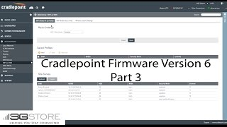 Cradlepoint Firmware Version 6 - Part 3, WiFi as WAN