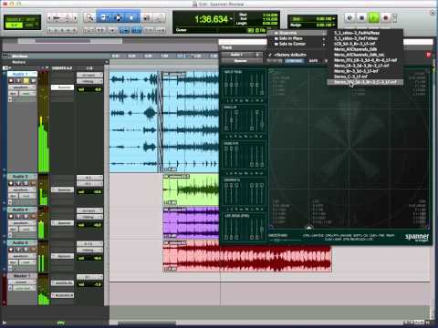 Review Of Spanner Surround Panner Plug-In For Pro Tools