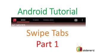 140 Android Swipe Tabs Part 1 |