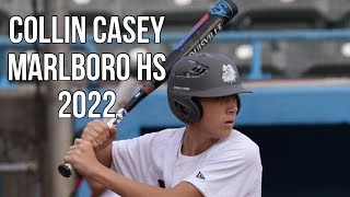 Collin Casey Marlboro HS 2022 HV Bulldogs Baseball Highlights