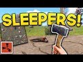 LOOTING SLEEPERS! | Rust SOLO Gameplay #4 | S4