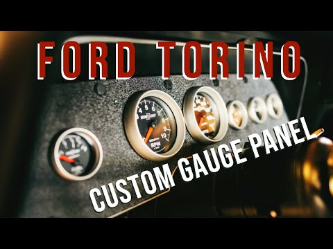1976 Ford Torino Custom Gauge Panel