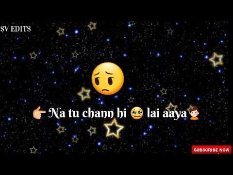 aadat-punjabi-whatsapp-status-video-by-ninja-|-latest-punjabi-song-2017-|-sv-edits