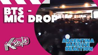 BTS 'MIC DROP (Steve Aoki Remix)' MASSIVE MV Reaction // 방탄소년단 뮤비 리액션 아르헨티나