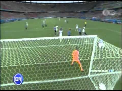 Uruguay 1-3 Costa Rica Narración Oscar Segura Mundial Brasil 2014