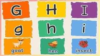 GHI|字母動畫