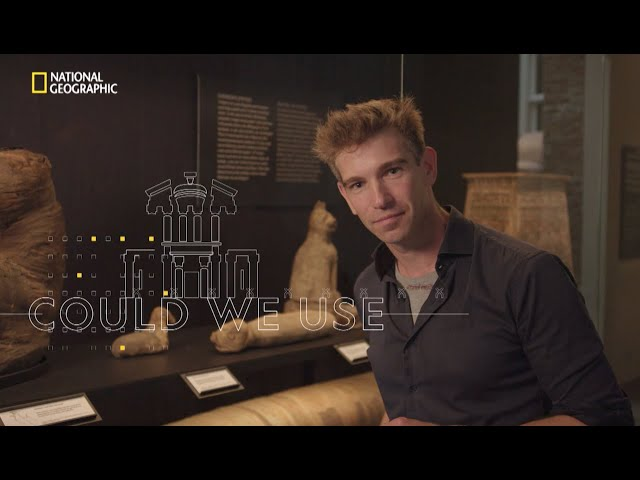 Promovideo History Month (National Geographic) met Bart Gielen als 'local talent'