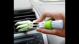 Полезная щетка для чистки воздуховодов в авто