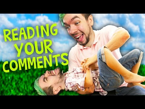 ARE YOU TICKLISH?| Reading Your Comments #95