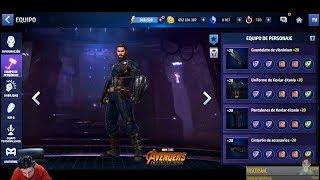 Nuevo Mejor Uniforme Juego CAPITAN AMERICA Infinity War Traje Vengadores Marvel Future Fight