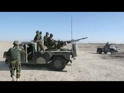 Afghan Forces Fight Taliban Advance In Helmand