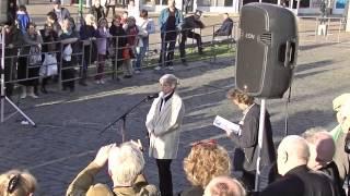 Выступление Биатриче Ковали на митинге по капремонту в Москве