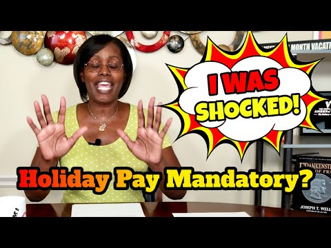 Do Employers Have To Pay Employees On Holidays? How To Define Employee Holiday Pay Policies