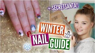 ULTIMATE WINTER NAILGUIDE + #SecretSanta | Julia Beautx