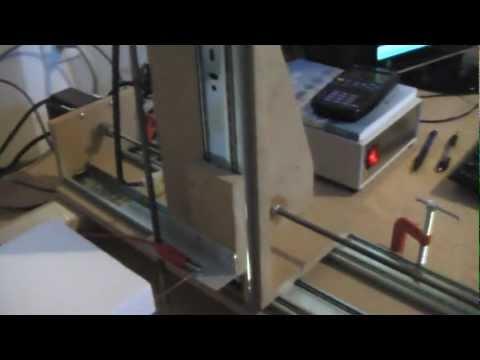 How To Build A Cnc Foam Cutter Youtube