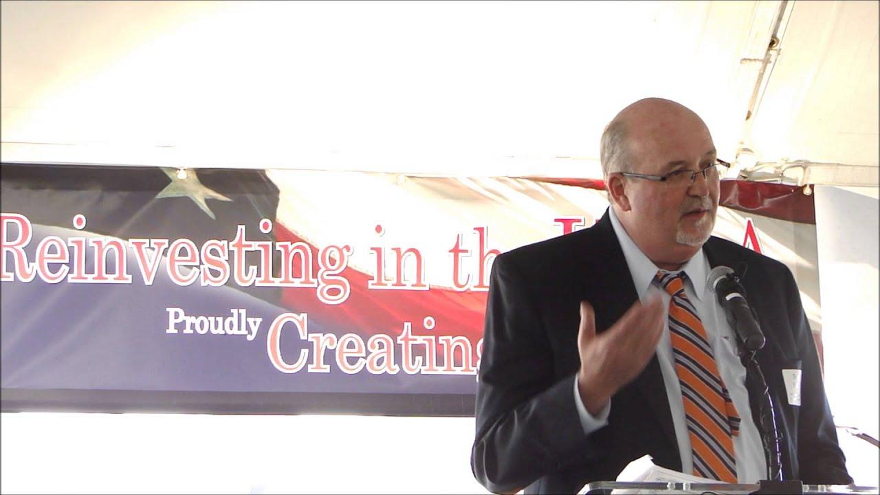 Ashley Furniture Davie County Edc President Terry Bralley Youtube