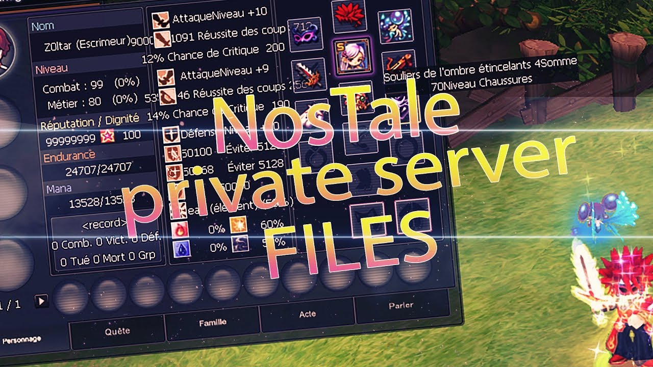 Nostale private server emulator [waat 9. 0a] page 8 ragezone.
