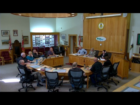 Brant County Council Special Meeting May 31 2017