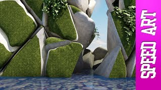 Canyon - Speed art ( #Cinema 4D ) | Thrausi + ivygrower