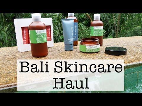 Bali Skincare Haul
