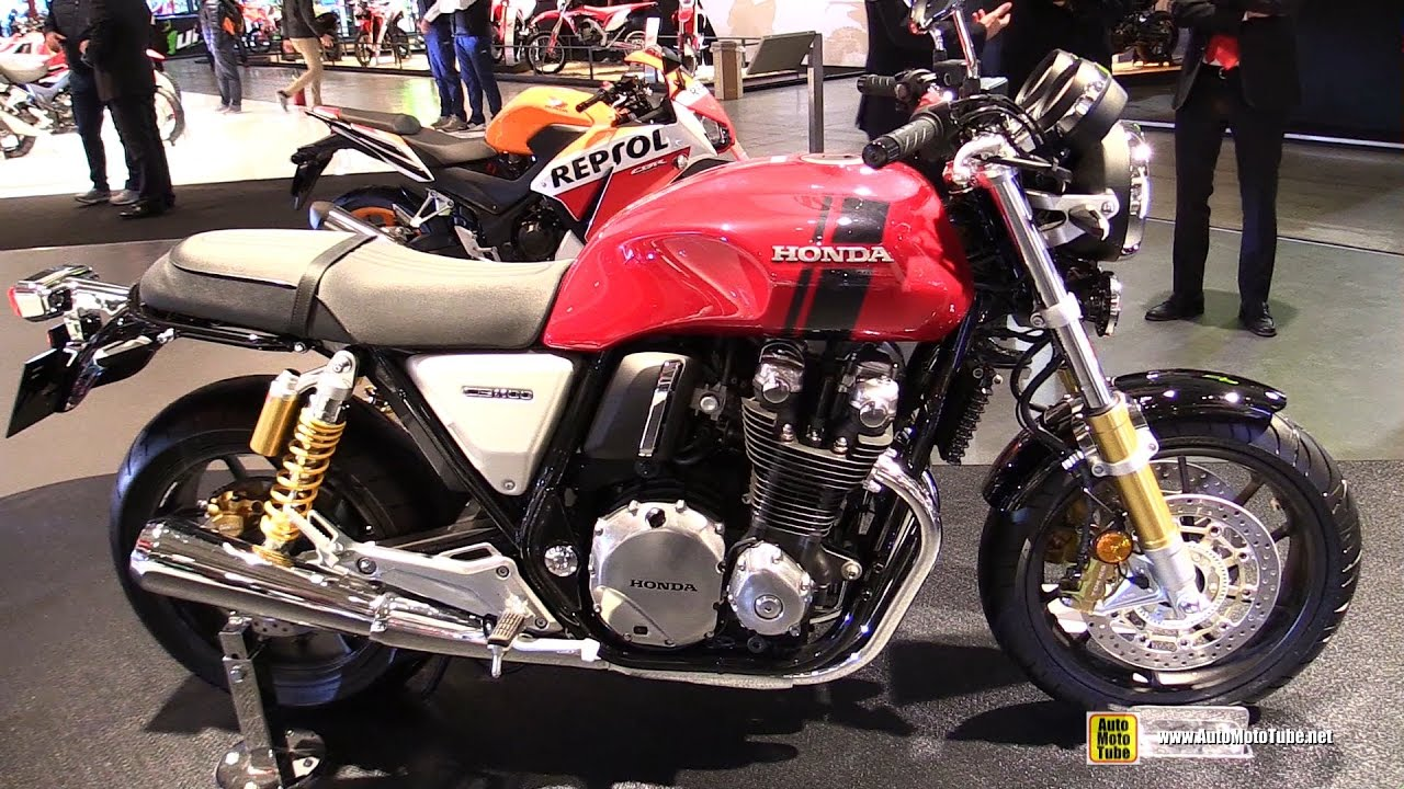 2017 honda cb1100 rs walkaround debut at 2016 eicma milan youtube. Black Bedroom Furniture Sets. Home Design Ideas