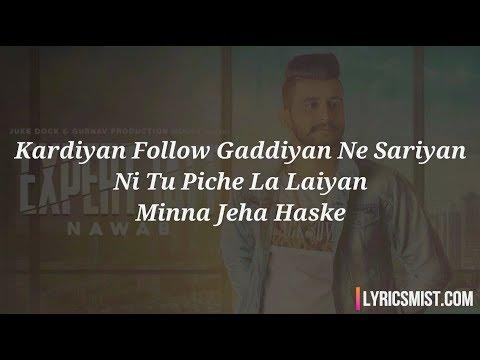 Expert Jatt Lyrics - Nawab ft. Mista Baaz | Latest Punjabi Songs 2018 [Trending Now]
