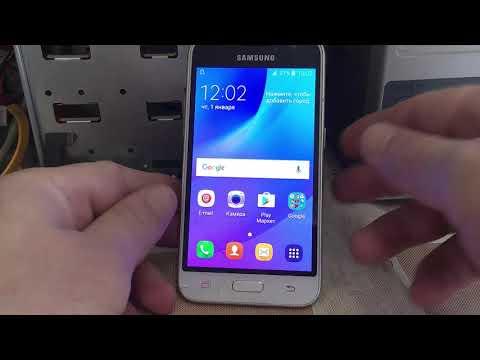 FRP Unlock Samsung SM-J120F/DS Galaxy J1 (2016)