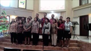 Natal di hatiku - Paduan suara guru karyawan SD Kristen Indonesia