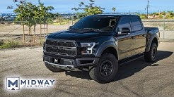 Our Powerful Ford F150 Raptor! (Midway Car Rental)