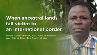 When ancestral lands fall victim to an international border