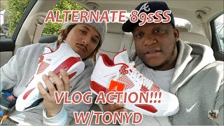 JORDAN 4 ALTERNATE 89 PICK UP W/TONY D!!!