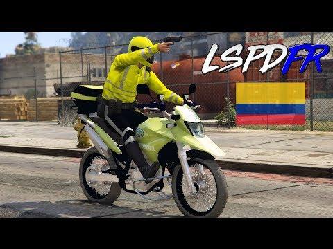 GTA 5 LSPDFR #187 POLICIA DE COLOMBIA | BÚSQUEDA Y CAPTURA | TheAxelGamer