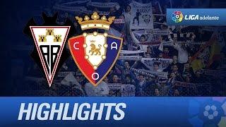 Resumen de Albacete Balompié (2-0) Osasuna - HD