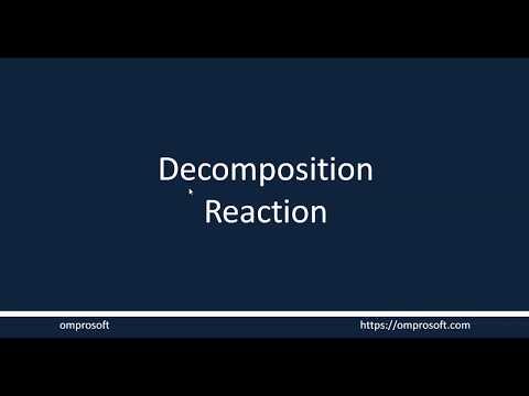 c1s3l3---decomposition-reaction