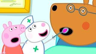 Peppa Wutz | Doktor Braunbär ist krank! | Peppa Pig Deutsch Neue Folgen | Cartoons für Kinder