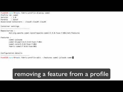 Profiles | Fabric8 Documentation