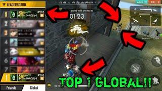 Top 1 Global Rank Free Fire Best Player/Villain Gaming/