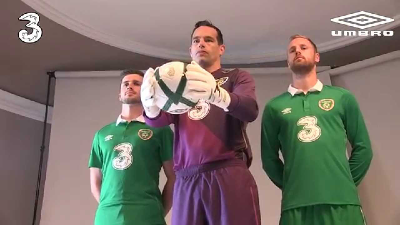 huge discount c27ae 037d2 New Official Republic of Ireland home kit 2014 - Behind the scenes  photoshoot