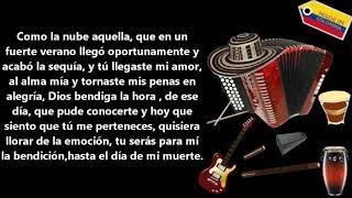 Te quiero mucho | Diomedes Diaz | Letra