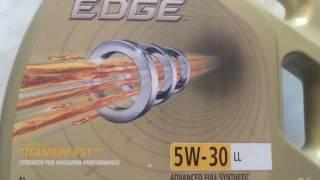 Моторное масло Castrol Edge Titanium FST LL 5W-30 4л. Обзор