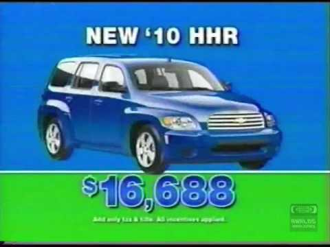 lynn layton chevrolet television commercial 2010 hhr decatur alabama youtube. Black Bedroom Furniture Sets. Home Design Ideas
