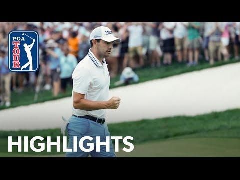 Patrick Cantlay shoots 6-under 66 | Round 4 | BMW Championship | 2021