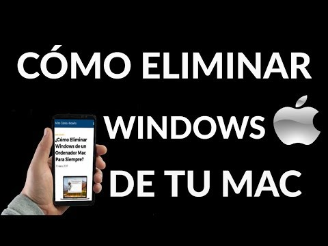 ¿Cómo Eliminar Windows de un Ordenador Mac?