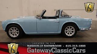 1965 Triumph TR4 - Gateway Classic Cars of Nashville #7