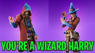 Fortnite NEW WIZARD SKINS - Caster & Elmira! PS4 Livestream | Daily Item Shop | Fortnite Battle Roya