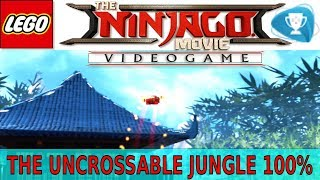 Lego The Ninjago Movie Videogame - The Uncrossable Jungle 100% - All Collectible Locations / Видео
