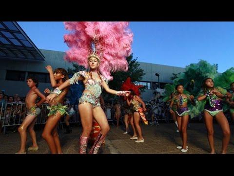 Reyes del Ritmo   Carnaval en Rosario 2015  Argentina   Comparsa