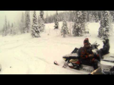 Кандалакша 22.12.13 (тест Polaris 800 Indy SP 2014)